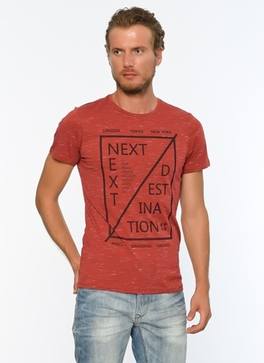 Blend Tişört Kırmızı
